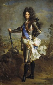 Portret Ludwika XIV pędzla Riguarda