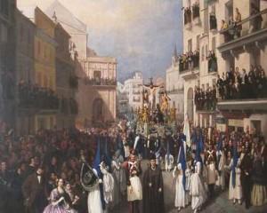 Procesja w Sewilli (1855), Manuel Cabral Aguado-Bejarano