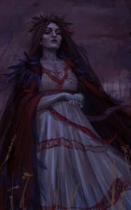 Morena - słowiański demon śmierci