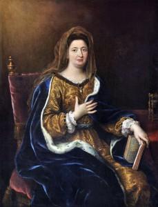 Markiza de Maintenon, autorstwa Pierre Mignarda