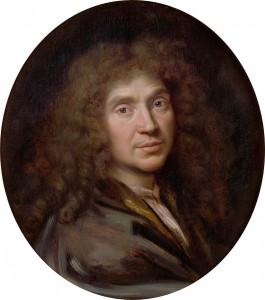 Portret Moliera pędzla Pierre Mignarda