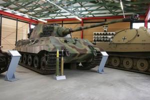 "Panzerkampfwagen VI ""Tiger II"" Ausf.B / fot. baku13, CC-BY-SA 3.0"