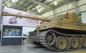 Panzerkampfwagen VI, Tiger I (E) w zbiorach Bovington Tank Museum / fot. Wojtek Duch