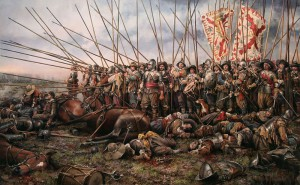 Bitwa pod Rocroi, autorstwa Augusto Ferrer-Dalmau