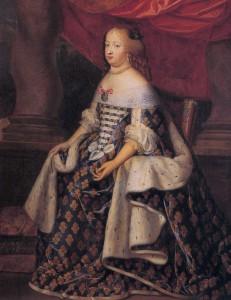 Maria Teresa Austriacka, obraz autorstwa Charlesa Beaubruna