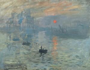 Impresja, wschód słońca, Monet