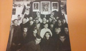 Lata 30. XX w. - szkoła w Gminie Niegowej - ze zbiorów pana Bogusława Bielaka