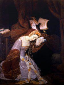 Anna Boleyn w Tower, autorstwa Edouarda Cibota
