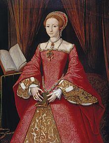 Elżbieta I, jako księżniczka w wieku 13 lat