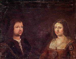 Portret ślubny Fernanda Aragońskiego i Izabeli Kastylijskiej