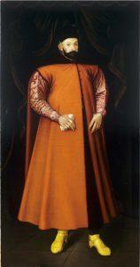 Stefan Batory na obrazie Marcina Kobera, 1583 r.