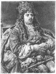 Michał Korybut Wiśniowiecki autorstwa Jana Matejki