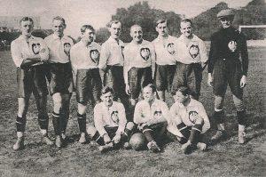 Reprezentacja Polski podczas igrzysk olimpijskich w 1924 r.