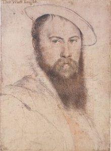 Thomas Wyatt, portret autorstwa Hansa Holbeina