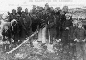 Polacy na Syberii. Źródło: ipn.gov.pl