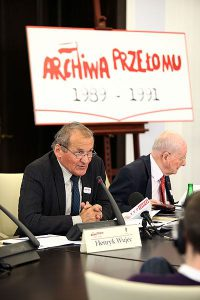 Henryk Wujec / fot. Michał Józefaciuk, senat.gov.pl