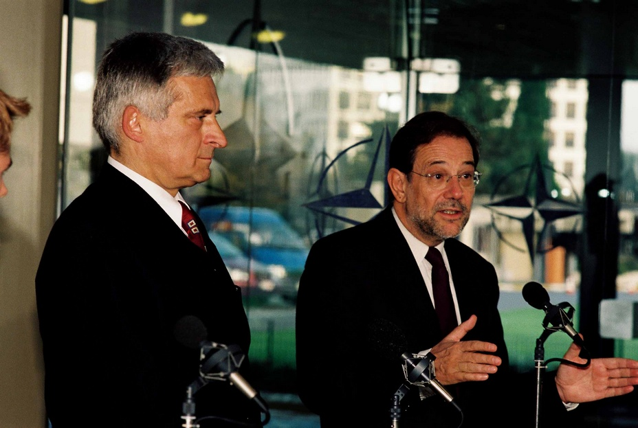 Meeting with NATO Secretary General Javier Solana