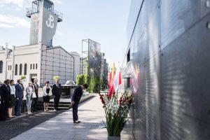 Premier Szydło podczas 72. rocznicy wybuchu Powstania Warszawskiego / fot. fot. P.Tracz, kprm.gov.pl