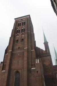 Wieża kościoła Mariackiego w Gdańsku, autor: Maja Sypniewska