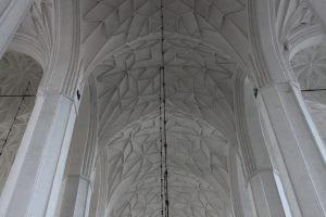 Sklepienia nawy głównej gdańskiego kościoła Mariackiego, autor: Maja Sypniewska