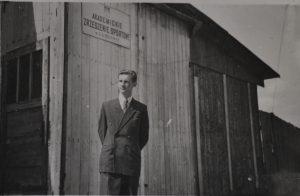 Siedziba AZS Lublin w 1948 roku.