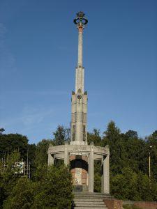 Kolumna Zwycięstwa w Stargardzie (lub do 1989 roku Pomnik Wdzięczności) CC BY-SA 3.0