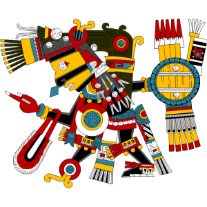Tezcatlipoca czarny, Kodeks Borgia