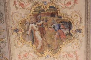 Malowidła na stropie kazimierskiej fary / fot. M. Sypniewska