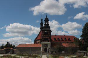 Kościół i klasztor bernardynów w Kazimierzu Biskupim / fot. M. Sypniewska