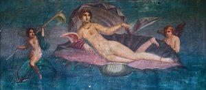 Narodziny Wenus, fresk z Pompejów, I wiek