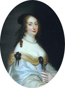 Portret królowej Ludwiki Marii Gonzagi de Nevers przypisywany Justusowi van Egmont