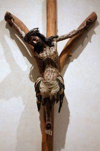 Krucyfiks widlasty z kościoła Bożego Ciała we Wrocławiu, ob. w Muzeum Narodowym w Warszawie / źródło: pl.wikipedia.org, licencja: CC BY 3.0
