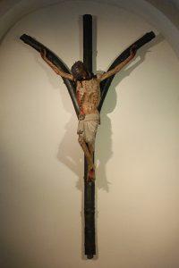 Krucyfiks widlasty w kościele NMP na Kapitolu w Kolonii / źródło: pl.wikipedia.org, licencja: CC BY-SA 3.0