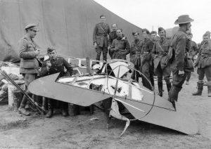 Wrak samolotu von Richthofena