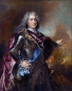 Nicolas de Largillière, Portret Augusta II Mocnego z około 1714-1715 roku