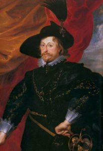 Władysław IV na obrazie Rubensa, 1624 r.