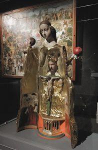 Madonna szafkowa z Lubiszewa Tczewskiego, ok. 1430 rok