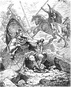 """Helgi i Sigrun"" Johannes Gehrts (1901)"
