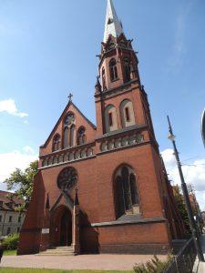 Kościół św. Szczepana w Toruniu / źródło: pl.wikipedia.org., licencja: CC BY-SA 4.0