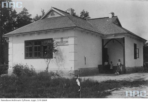 Widok zewnętrzny budynku / fot. nac.gov.pl