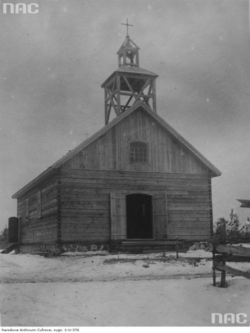 Kościół w Budkach Snowidowickich w województwie wołyńskim