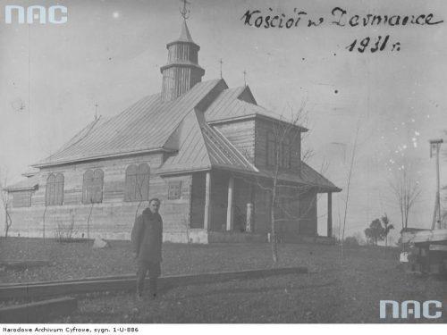 Widok zewnętrzny kościoła