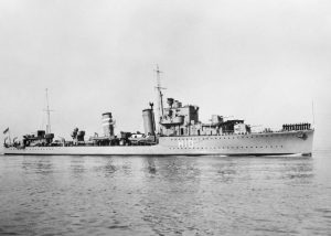 HMS Encounter w 1938 roku