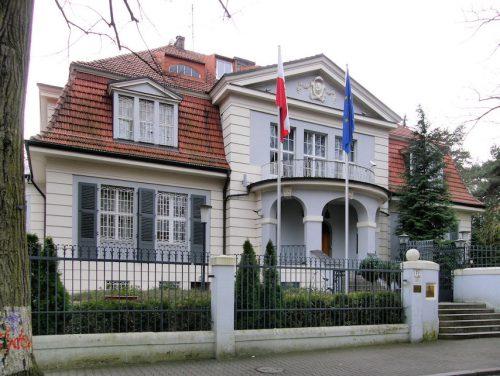 Ambasada RP w Berlinie / fot. Axel Mauruszat, CC-BY-SA 3.0