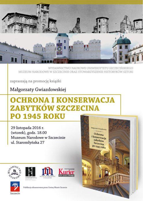 plakat_promocja-ksiazki-gwiazdowska-muzeum-szczecin