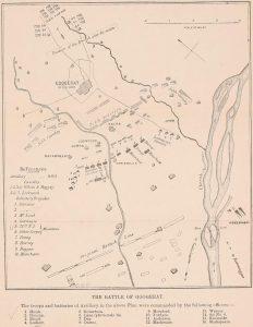 Mapa bitwy pod Gujrat