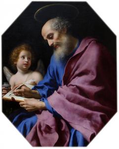 Święty Mateusz, obraz pędzla Carlo Dolci