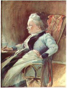 Portret Minny Canth pędzla Kaarlo Vuori