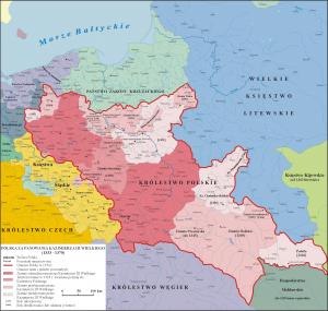 Polska w trakcie rządów Kazimierza Wielkiego (1333- 1370)