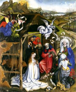 Boże Narodzenie według malarza Roberta Campina